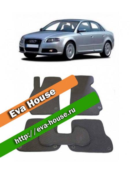 Автоковрики для Audi A4 (B6, B7; 2001-2007)