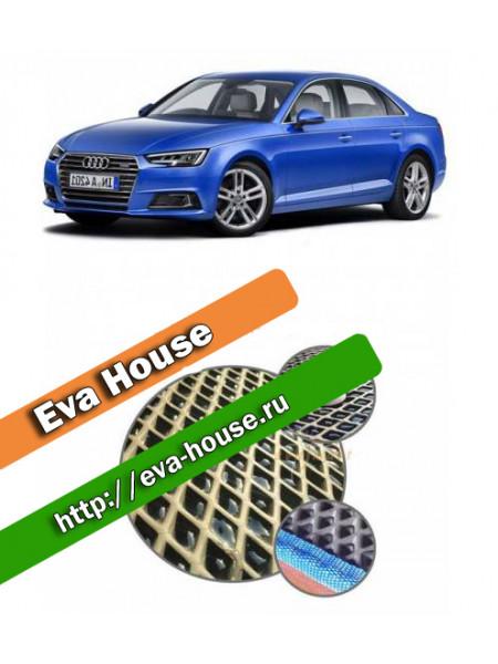 Автоковрики для Audi A4 (B9; 2015)
