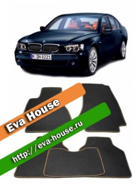 Автоковрики для BMW 7 серии (E65 Long; 2001-2008)