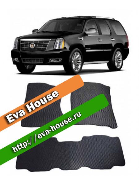Автоковрики для Cadillac Escalade 3 (2007-2014) семиместный
