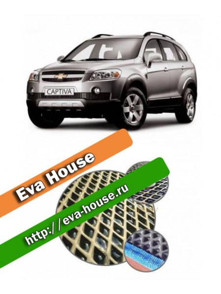 Автоковрики для Chevrolet Captiva 5 мест (2006-2011)