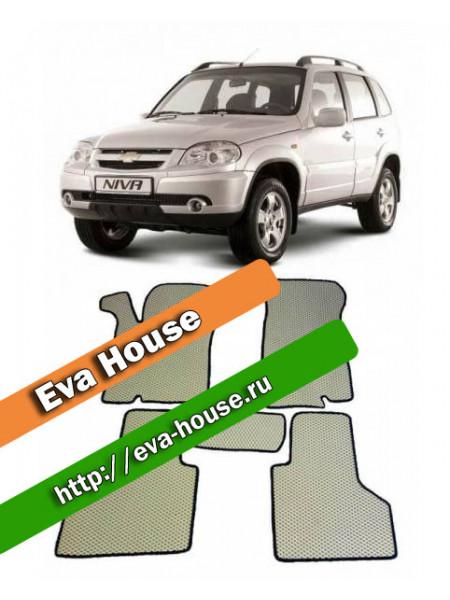 Автоковрики для Chevrolet Niva (2002-2009)