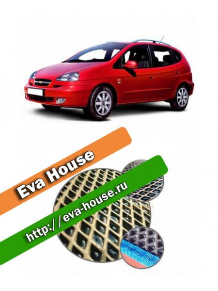 Автоковрики для Chevrolet Rezzo (2004-2010)