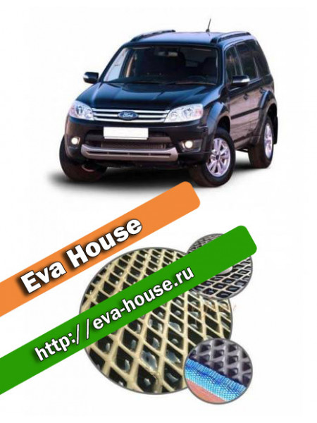 Автоковрики для Ford Escape II (2007-2012)