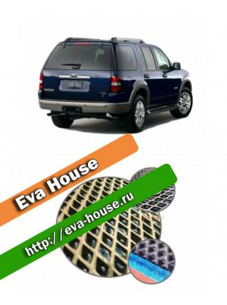 Автоковрики для Ford Explorer IV 5 мест (2006-2010)