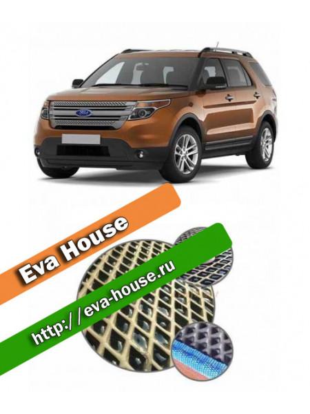 Автоковрики для Ford Explorer V (2011-2015)