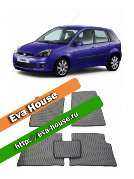 Автоковрики для Ford Fiesta V (2002-2008)