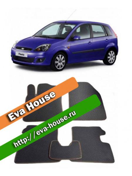 Автоковрики для Ford Fiesta VI хэтчбэк (2008-н.в.)