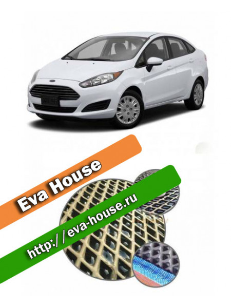 Автоковрики для Ford Fiesta VI седан (2015-н.в.)