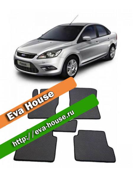 Автоковрики для Ford Focus II (2005-2010)