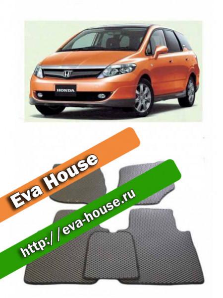 Автоковрики для Honda Airwave (2005-н.в.; правый руль)