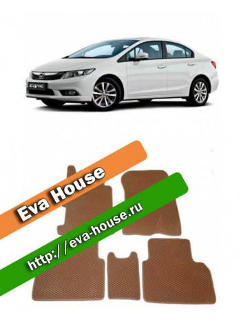 Автоковрики для Honda Civic VIII (2006-2012)