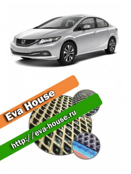 Автоковрики для Honda Civic IX (2012-н.в.)