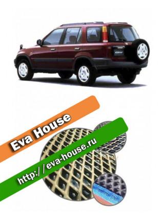 Автоковрики для Honda CR-V I АКПП правый руль (1995-2001)