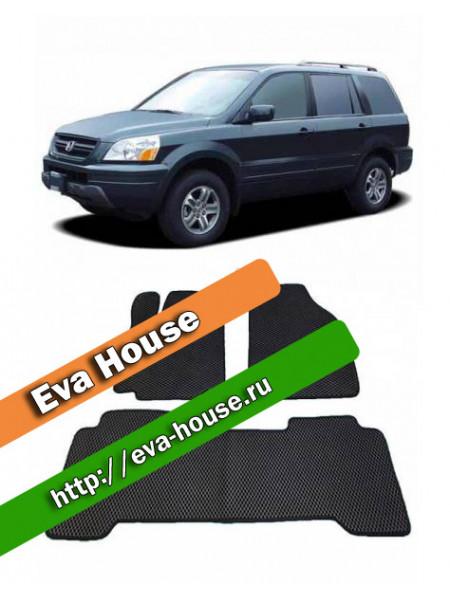 Автоковрики для Honda Pilot I (2002-2006)