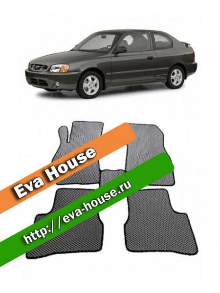 Автоковрики для Hyundai Accent II (2000-2012)