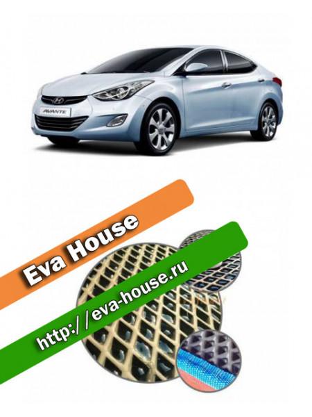 Автоковрики для Hyundai Avante MD (2010-н.в.)