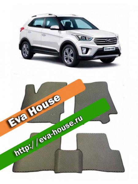 Автоковрики для Hyundai Creta (2016-н.в.)