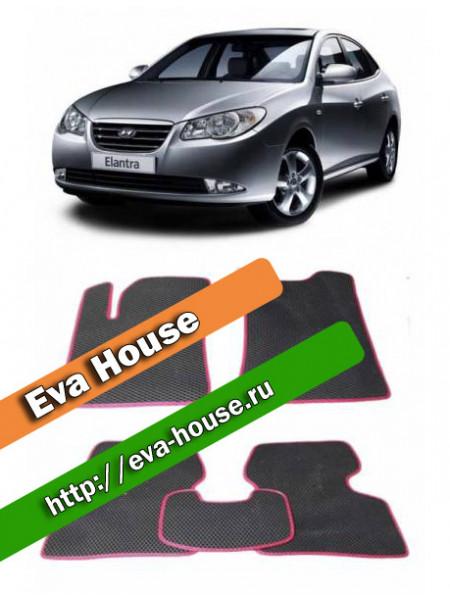 Автоковрики для Hyundai Elantra IV (2006-2010 н.в.)