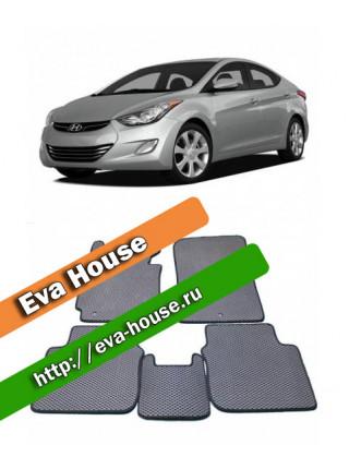 Автоковрики для Hyundai Elantra V (2011-н.в.)