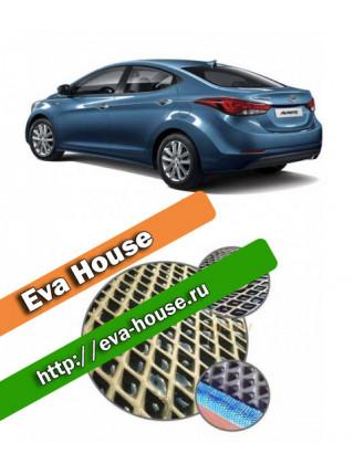 Автоковрики для Hyundai Elantra VI (2015-2016)