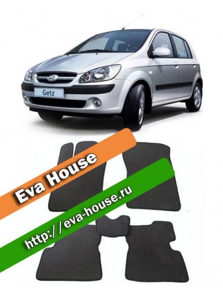 Автоковрики для Hyundai Getz (2002-2011)