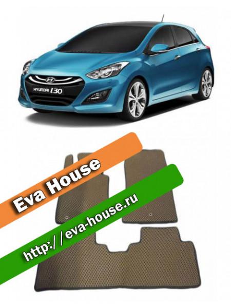 Автоковрики для Hyundai i30 (2012-н.в.)
