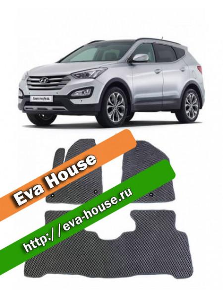 Автоковрики для Hyundai Santa Fe III (2012-н.в.)