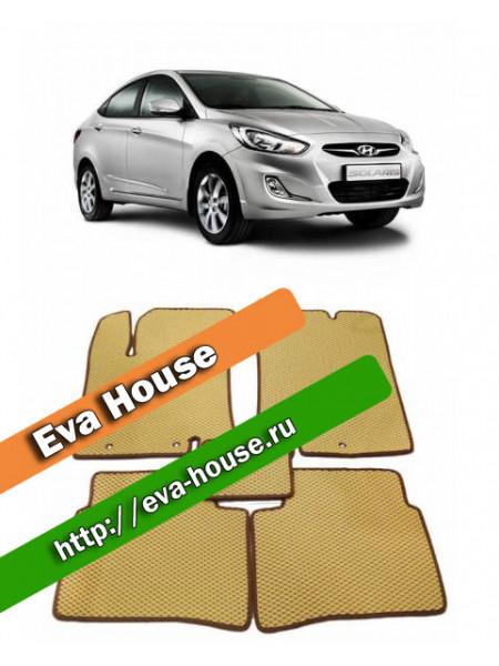 Автоковрики для Hyundai Solaris (2011-2014)