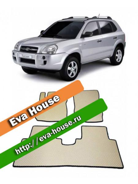 Автоковрики для Hyundai Tucson (JM; 2004-2010)