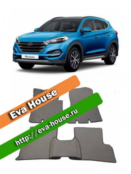 Автоковрики для Hyundai Tucson (TL; 2015-н.в.)