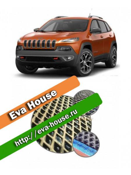 Автоковрики для Jeep Cherokee KL (2014-н.в.)