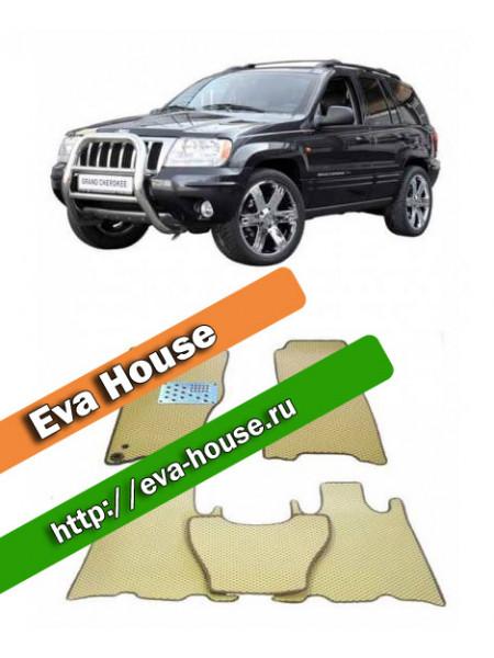 Автоковрики для Jeep Grand Cherokee WJ (1999-2004)