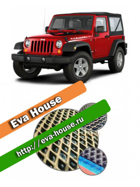 Автоковрики для Jeep Wrangler III 3d (JK; 2007-н.в.)