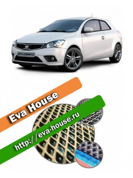 Автоковрики для Kia Ceed I 3d хэтчбэк (2006-2012)
