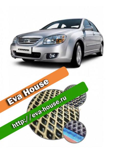 Автоковрики для Kia Cerato I (2004-2009)