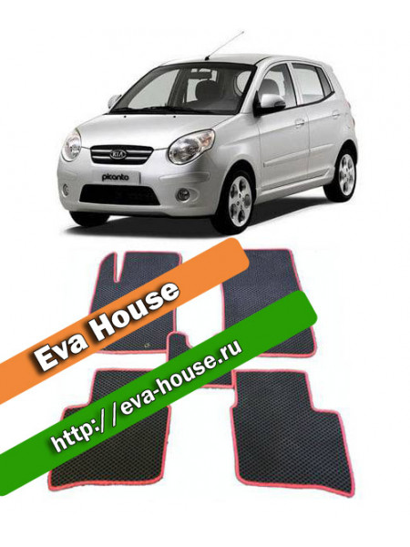 Автоковрики для Kia Picanto I (2004-2011)