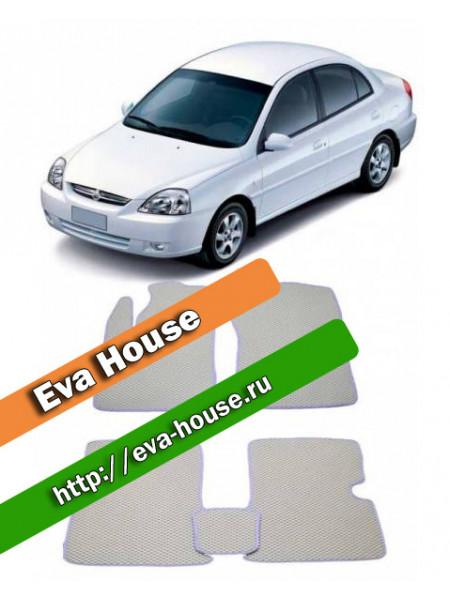 Автоковрики для Kia Rio I (2000-2005)