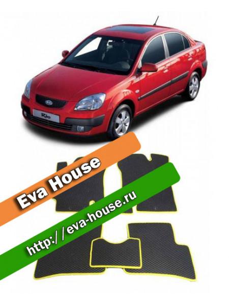 Автоковрики для Kia Rio II (2005-2011)