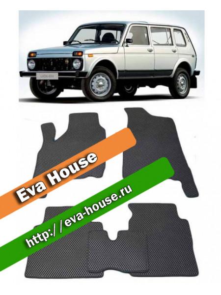 Автоковрики для Лада Нива ВАЗ-2131 5d (1993-н.в.)