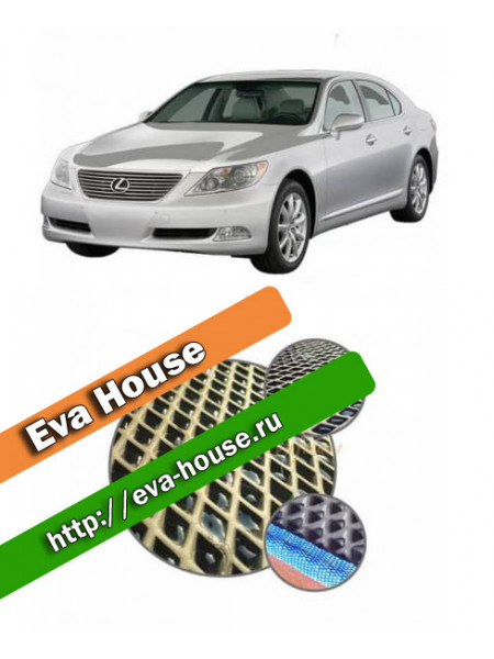 Автоковрики для Lexus LS IV Long (2006-2012)