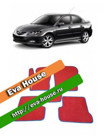 Автоковрики для Mazda 3 (BK; 2003-2009)