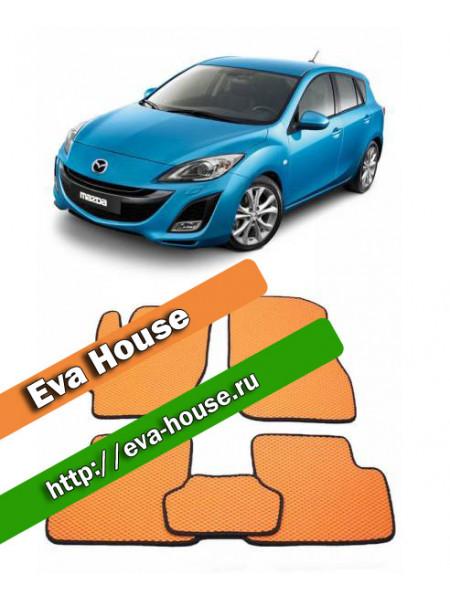 Автоковрики для Mazda 3 (BL; 2009-2013)