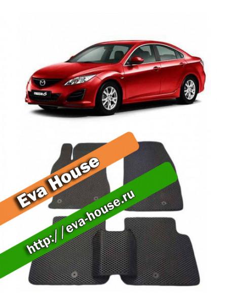 Автоковрики для Mazda 6 II (GH; 2007-2012)