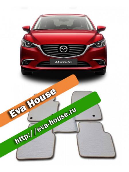 Автоковрики для Mazda 6 III (GJ; 2012-2015)