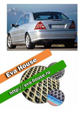 Автоковрики для Mercedes-Benz C-класс II (W203; 2000-2007)