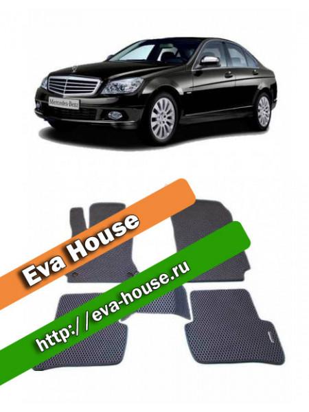 Автоковрики для Mercedes-Benz C-класс III (W204; 2006-2011)