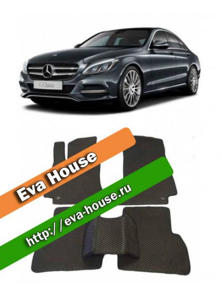 Автоковрики для Mercedes-Benz C-класс IV (W205; 2015-н.в.)