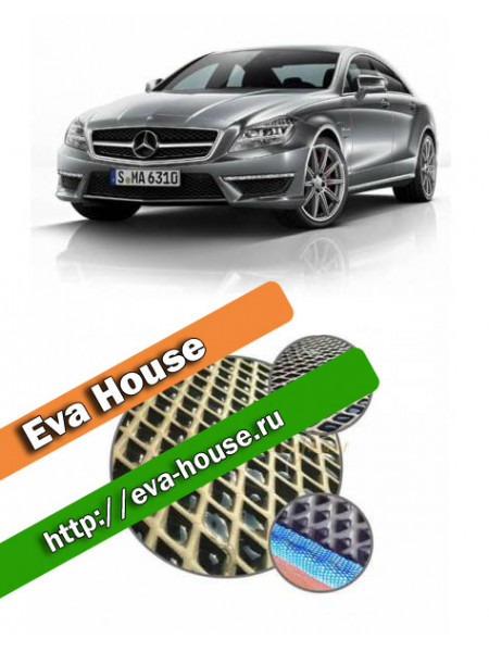 Автоковрики для Mercedes-Benz CLK-класс II (W218; 2011-н.в.)