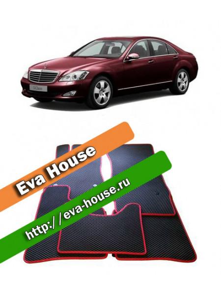 Автоковрики для Mercedes-Benz S-класс V (W221; 2005-2013)